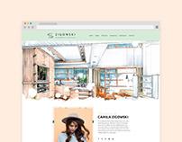 Website • Camila Zigowski
