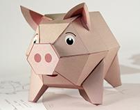 PIGGY – A Paper Toy