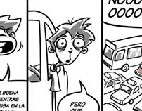 No más tocino- comic strips