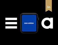 Adidas X Apple Watch App
