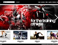 Adidas Web Page Design