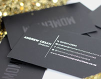 Momentum Productions Business Cards