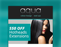Email Marketing - Aqua Colour Lounge
