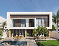 Al Mouj Project. Architectural visualization