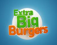 Extra big burgers icon