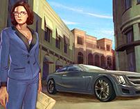Molly Grand Theft Auto V