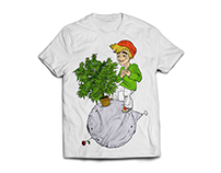 O Pequeno Jardineiro - Estampa