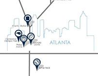 Atlanta Proximity Map