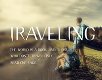 Free Traveling Typeface