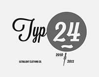 Ultralight Typography Sets 2010/2011
