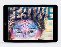 FESTIVE Magazine | iPad