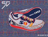 ELLESSE 50TH ANNIVERSARY POSTER