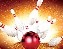 Bowling Tournament REE PSD Flyer Template