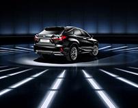 Lexus RX 2016 | studio | CGI backgrounds