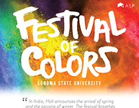 SSU Festival of Colors