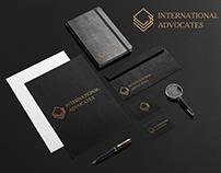 """Logo Design for """"INTERNATIONAL ADVOCATES"""""""