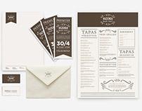 Visual identity for restaurant
