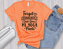 Yoga T-Shirt Design Bundle