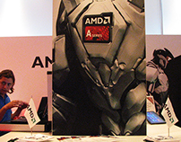 AMD stand