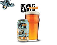 DOWN TO EARTH | Craft Beer Packaging Design