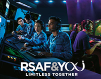 Republic of Singapore Airforce — RSAF&YOU Key Visual