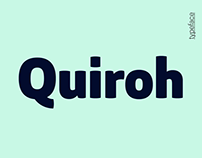 Quiroh - Font Family