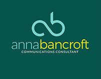 Anna Bancroft Communications Logo Design