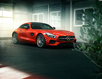"Mercedes AMG GT S ""feueropal"""