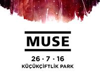 M U S E · Concert Poster