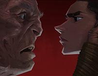 Rey vs Snoke study