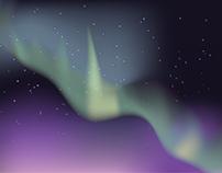 1 hour aurora borealis