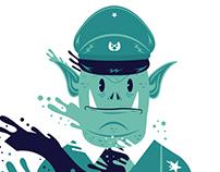 Ilustración -  All Cops Are Bastards