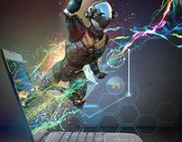 CU Gaming Poster