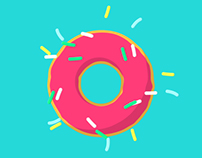 Donut Animation