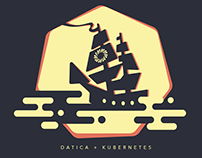 Datica + Kubernetes Shirts