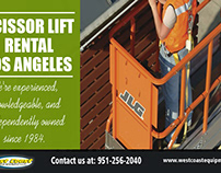 Scissor Lift Rental in Los Angeles