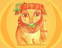 Fantasy animal (print) - Сказочный Зверь