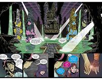 Cores e letras O NOVOS ATLANTES (HQ/Comics)