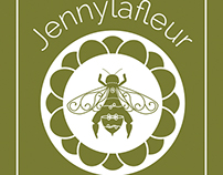 Logo and Business Cards: Jennylafleur
