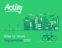 Activy | Mobile app interface design for cyclist