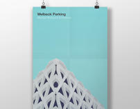 Architectural poster #30. Welbeck Parking.
