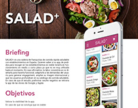 UX / UI diseño de APP (SALAD+)