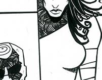 Elektra e Mercenário
