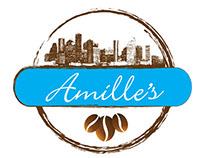 Amille's Coffee Logo ReBrand