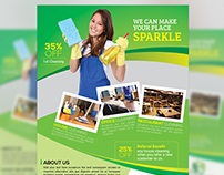 Cleaning Services Flyer / Magazine Ad