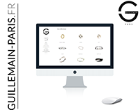 Guillemain-Paris : Jewelry e-commerce