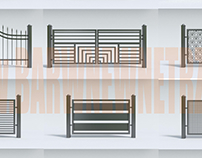 balustrades and fences