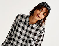 Vichy Checks Back to School Collection Pull & Bear F/W