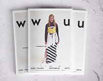 WU | Restyling Magazine - Editorial Graphic Design