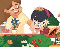chilldren book illustration